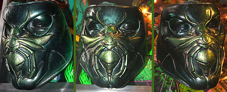 Green Hornet mask from the un-produced Kevin Smith film for Universal