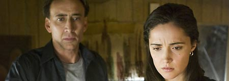 Nicolas Cage and Rose Byrne in Knowing