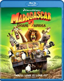 Madagascar: Escape 2 Africa Blu-ray cover