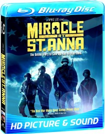 Miracle at St. Anna Blu-ray cover