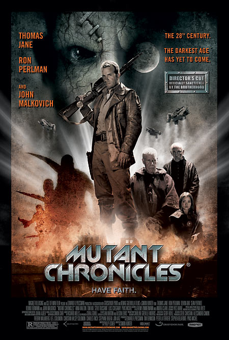 The Mutant Chronicles movie poster