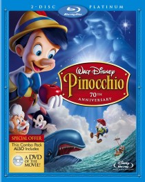 Pinocchio 70th Anniversary Blu-ray