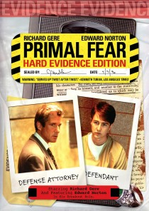 Primal Fear Hard Evidence Edition DVD cover