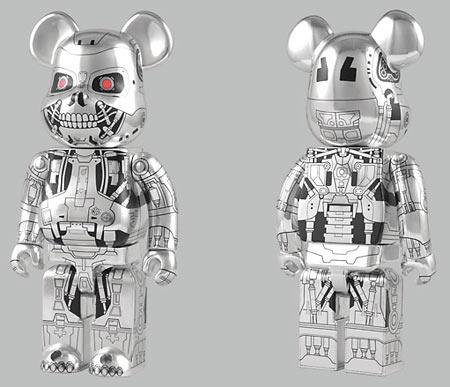 Terminator Salvation Bearbrick toys
