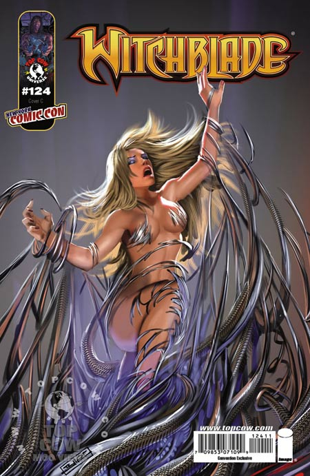 New York Comic Con exclusive cover for Witchblade