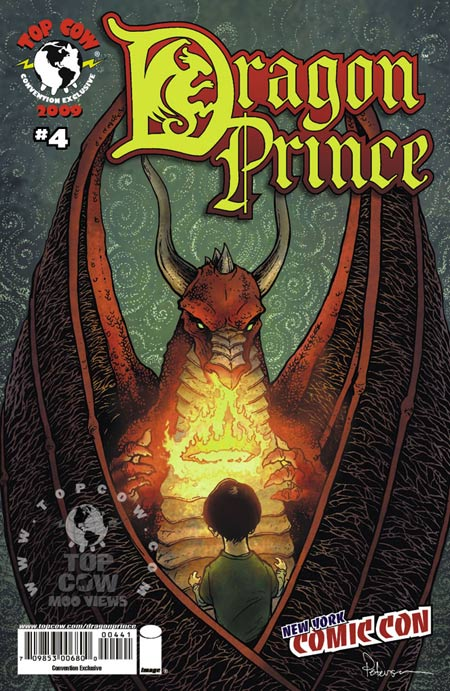 New York Comic Con exclusive cover for Dragon Prince