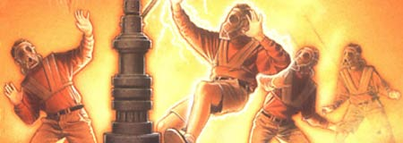 Detail of Tripods: The Pool of Fire book cover
