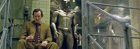 Patrick Wilson as Dan Dreiberg aka Nite Owl - contemplates his future as a Watchmen