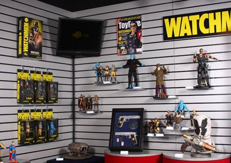 The DC Direct booth at Toy Fair New York