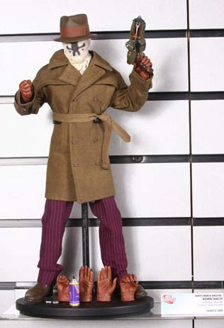 Rorschach 1:6 scale deluxe collector figure from DC Direct