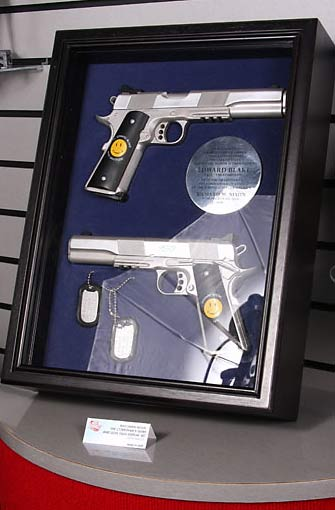 The Comedians Sidearms and Dog Tags from DC Direct