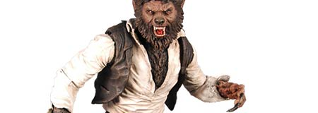The Wolfman toy from Mezco