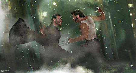 ShowLiev Schreiber and Hugh Jackman in X-Men Origins: Wolverine