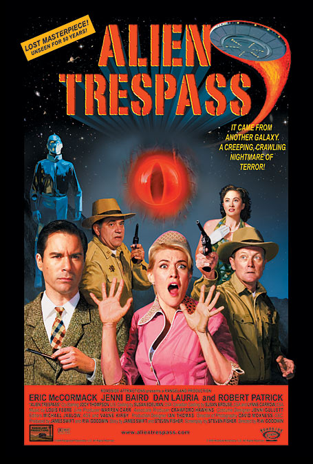 Alien Trespass movie poster