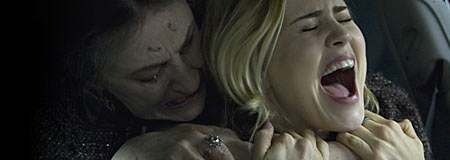 Lorna Raver and Alison Lohman tussle in Drag Me To Hell