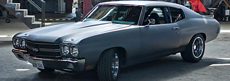 1970 Chevelle in street race primer
