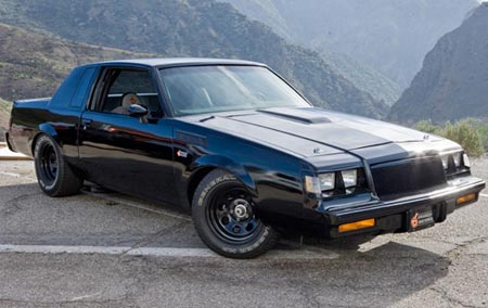 Fast and Furious used seven Buick GNs to depict the Dominic Toretto GNX