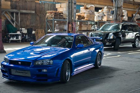 Skyline GT-S models were used to portray GT-Rs in Fast and Furious
