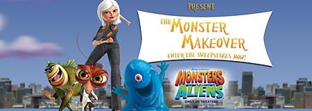 Monsters vs. Aliens Monster Makeover Sweepstakes