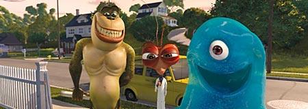 Scene from Monsters vs. Aliens
