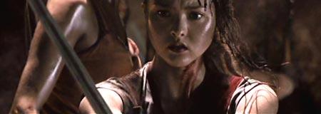 Devon Aoki in Mutant Chronicles