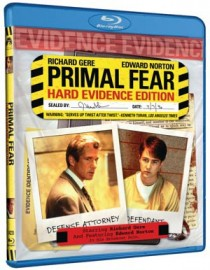 Primal Fear Hard Evidence Edition Blu-ray disc cover
