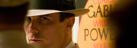 Christian Bale as FBI agent Melvin Purvis in Public Enemies