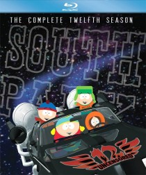 South Park the Complete Twelfth Season on Blu-ray cover