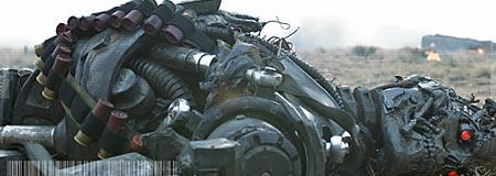 A machine gets jacked in Terminator Salvation