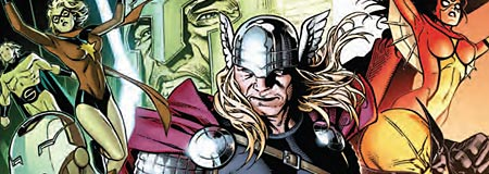 The Avengers Free Comic Book Day issue cover detail