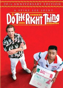 Do the Right Thing 20th Anniversary Edition DVD cover