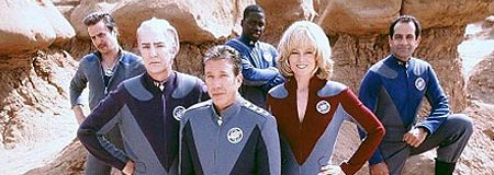 The cast of Galaxy Quest