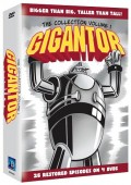 Win a copy of the 4 Disc DVD Collection of the animated cult classic Gigantor