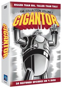 Gigantor DVD cover