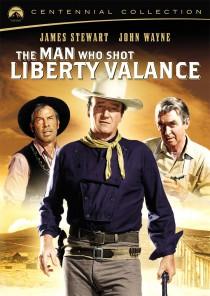 The Man Who Shot Liberty Vance Centennial Collection DVD cover