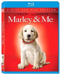 Marley and Me Blu-ray disc cover