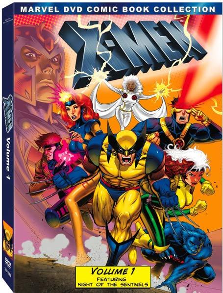 Marvel X-Men Volume 1 animated DVD set