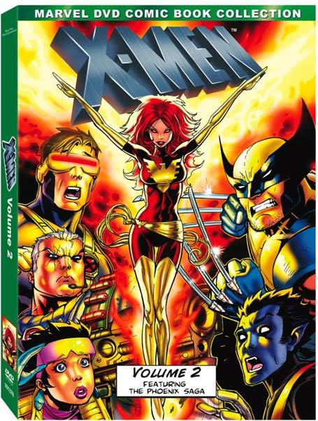 Marvel X-Men Volume 2 animated DVD set