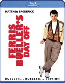 Ferris Buellers Day Off Blu-ray disc cover