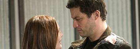 Julianne Moore and Dominic West in The Forgotten