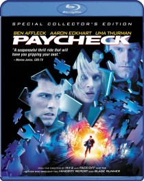 Paycheck Blu-ray disc cover