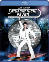 Saturday Night Fever Blu-ray disc cover