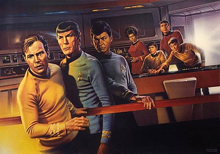Star Trek promotional poster