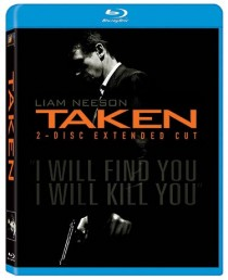 Taken Blu-ray disc cover