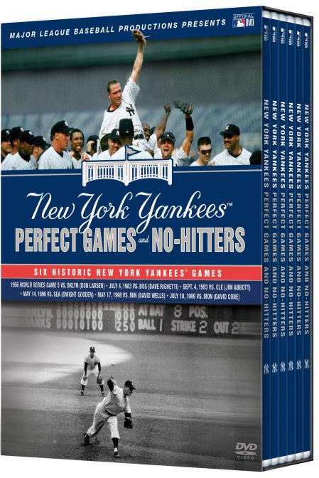 New York Yankees Perfect Games and No-Hitters case