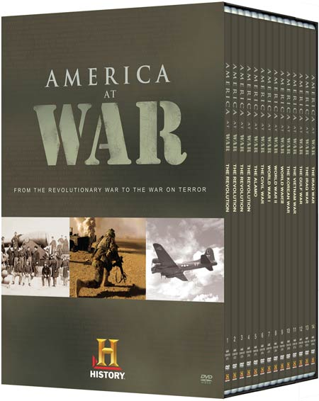 America At War DVD boxed set
