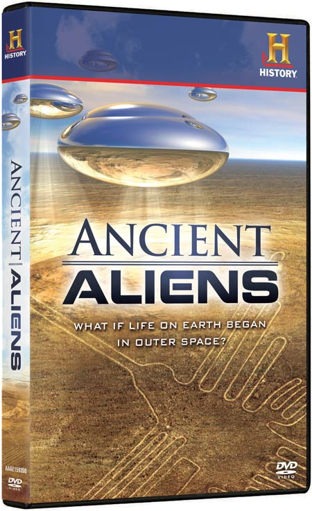 Ancient Aliens DVD packaging