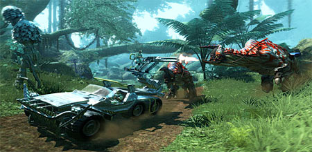 Screenshot from Avatar the Game