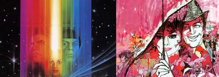 Samples of Bob Peak poster work