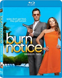 Burn Notice DVD packaging